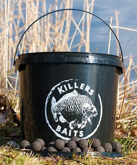 Carp Killers Boilies Black Hash 3,5kg Eimer