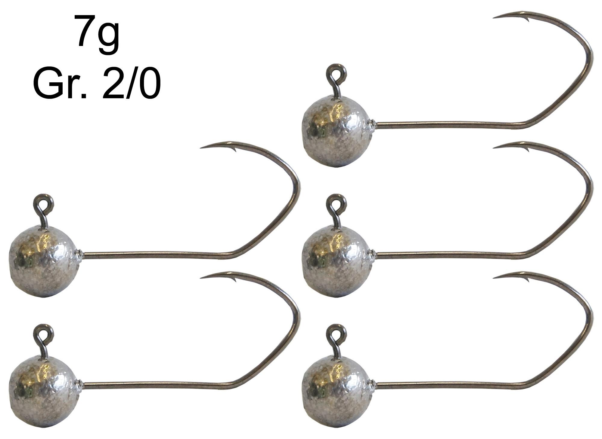 Jighaken Jigköpfe Bleiköpfe für Gummiköder Predax Fishing MSO Jighaken