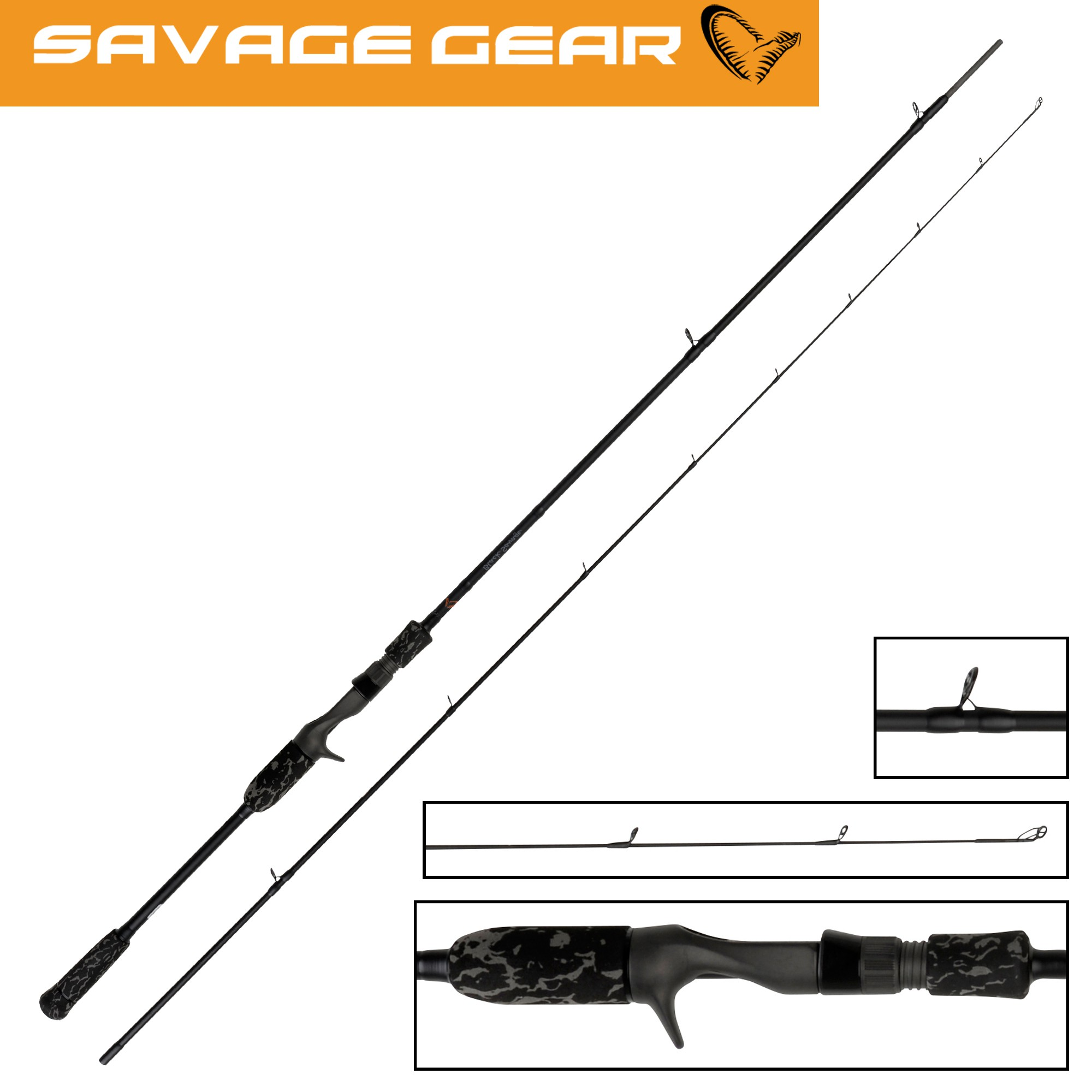 Black Savage Trigger 220cm 30-70g - Hechtrute