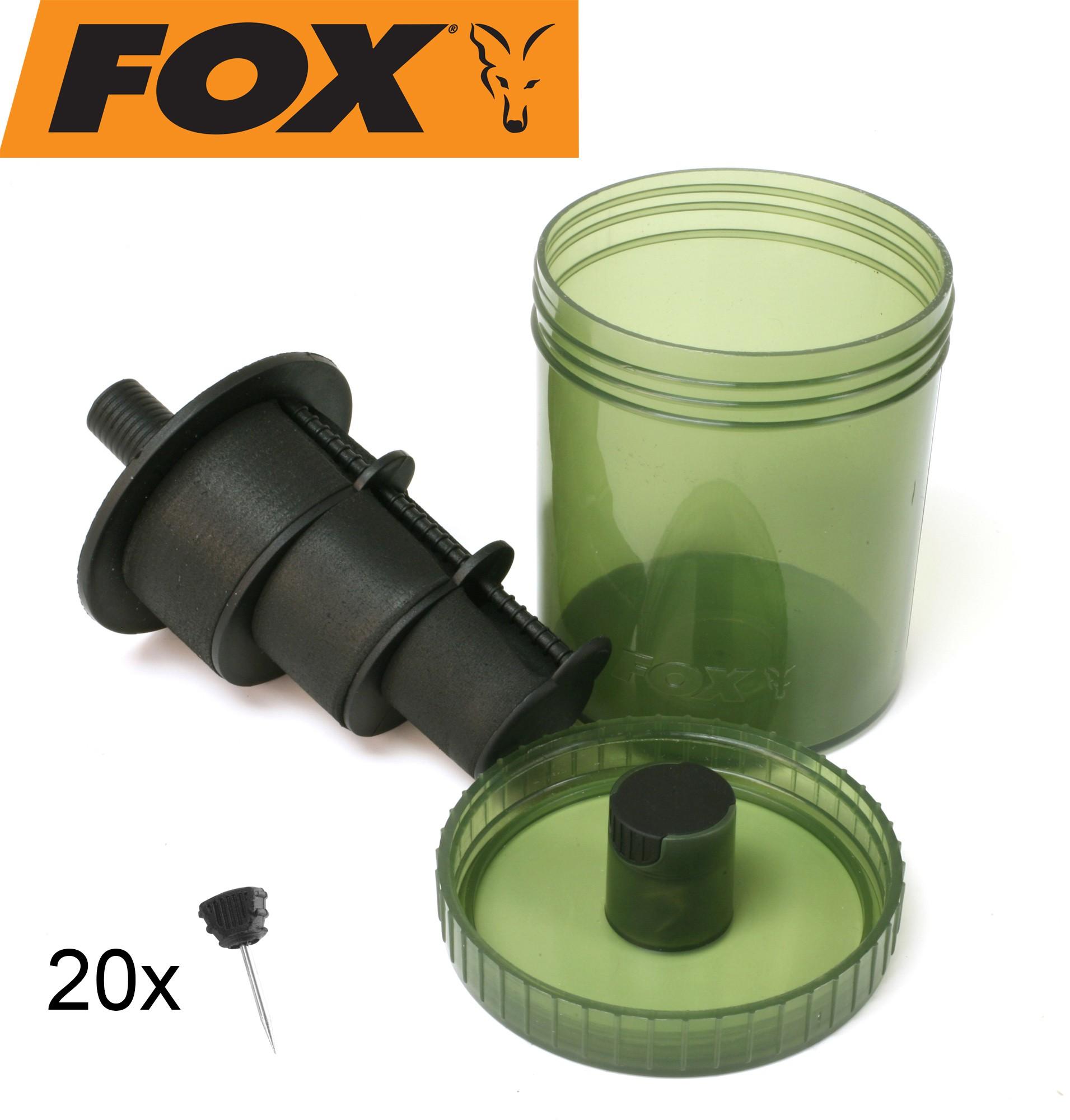 Vorfachbox Angelbox Fox Steam and Store Chod Withy Bin Rigbox Kleinteilebox