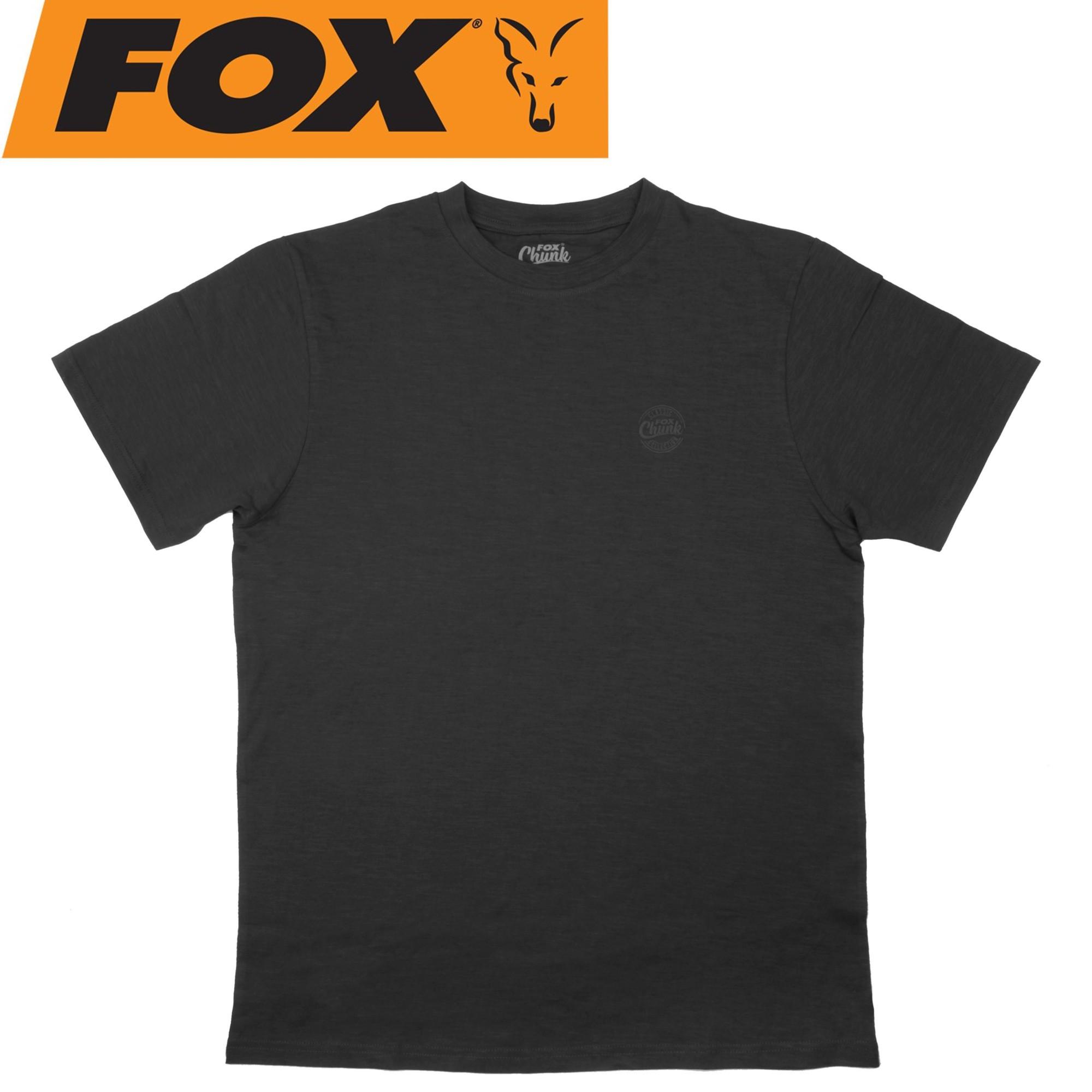 Fox chunk classic grey marl t shirt angelshirt for Grey marl t shirt