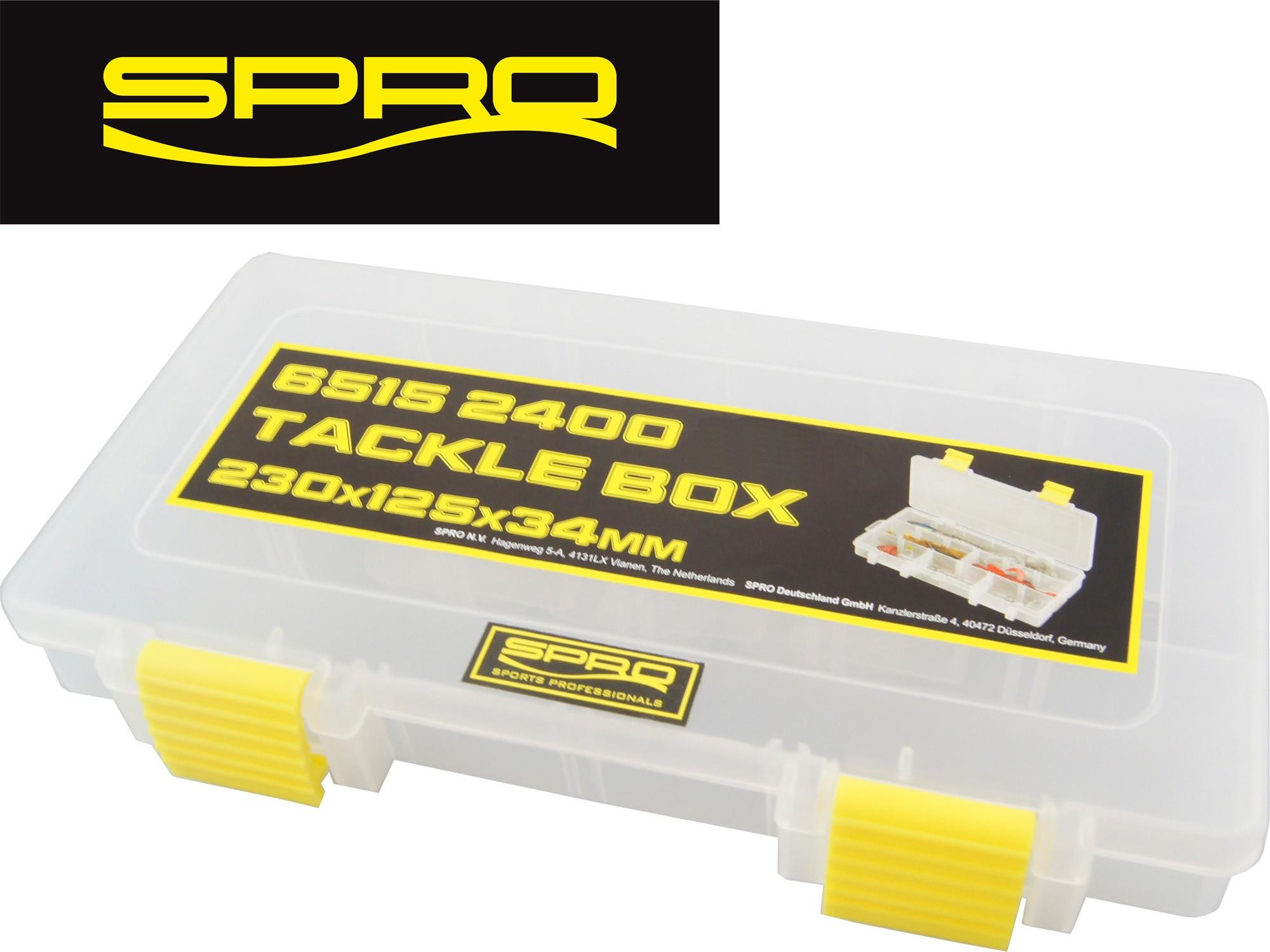 Kunstköderbox Tacklebox Köderbox Spro Tackle Box 23x12,5x3,4cm Angelbox