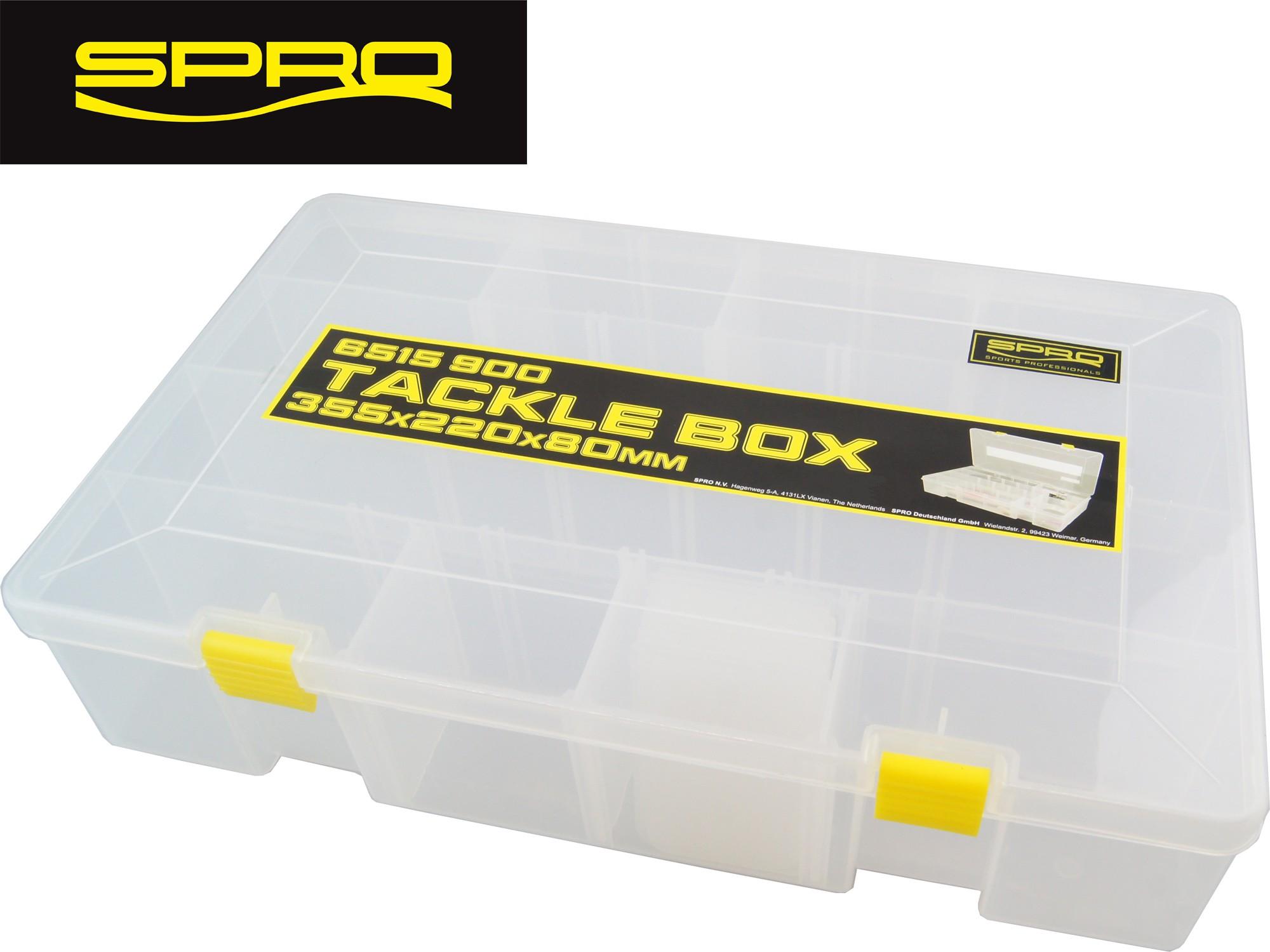 Kunstköderbox Spro FreeStyle Rigged Box L