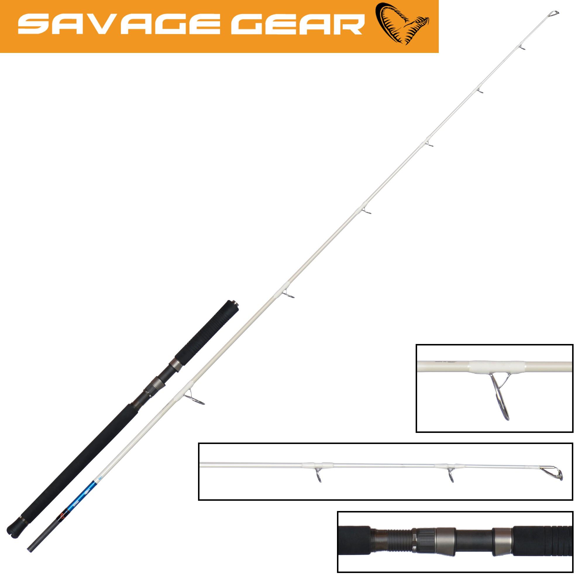 Savage Gear LRF CCS 213cm 0.5g-7g Ultralight Spinnrute zum Finesseangeln