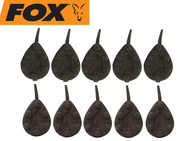 Fox Edges Kling On Leads Inline 56g-280g Karpfenblei Grundblei Tarnmuster NEW