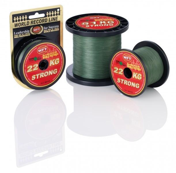 KG strong Schnur 1000m 0,32mm 51kg grün