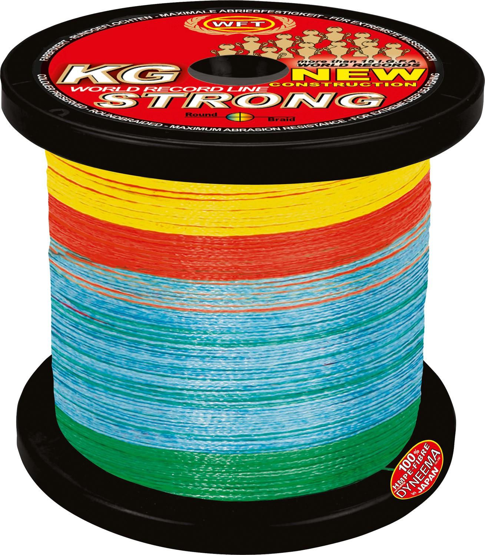 KG strong Schnur 1000m 0,32mm 51kg multicolor