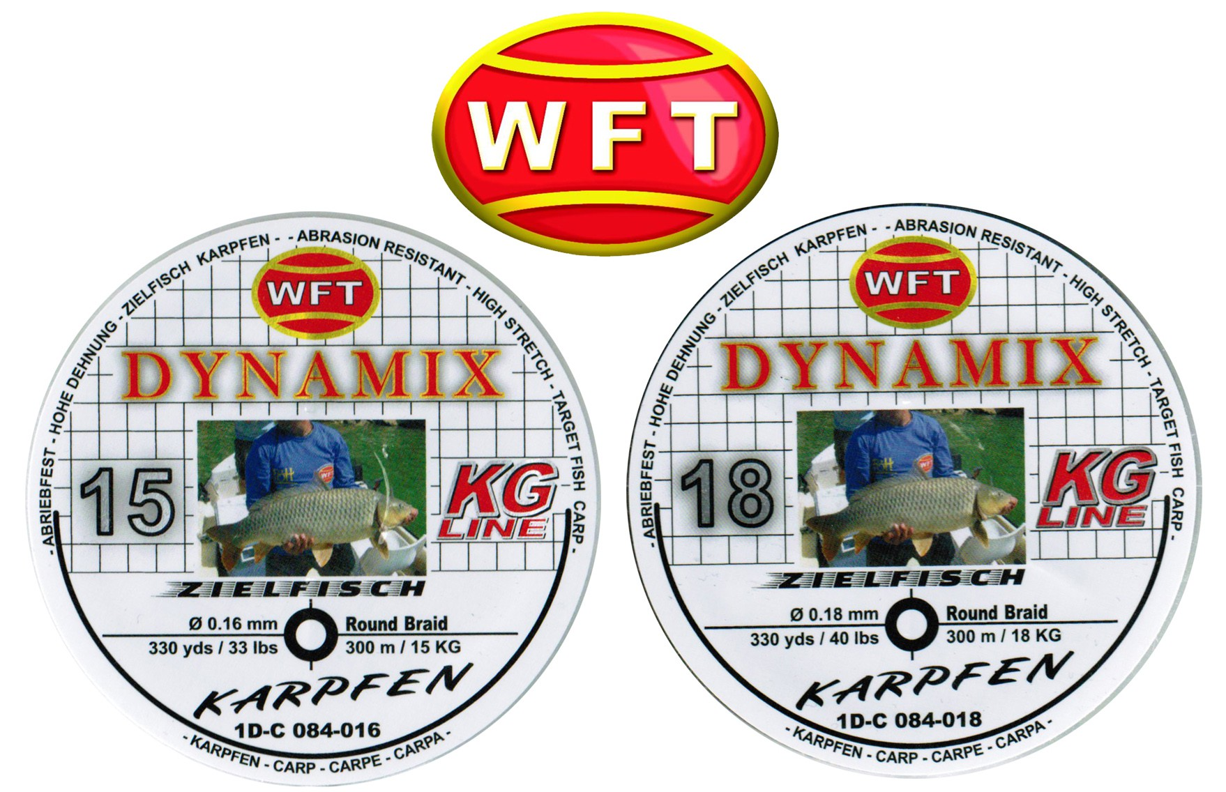 Round Dynamix Karpfen black 300m