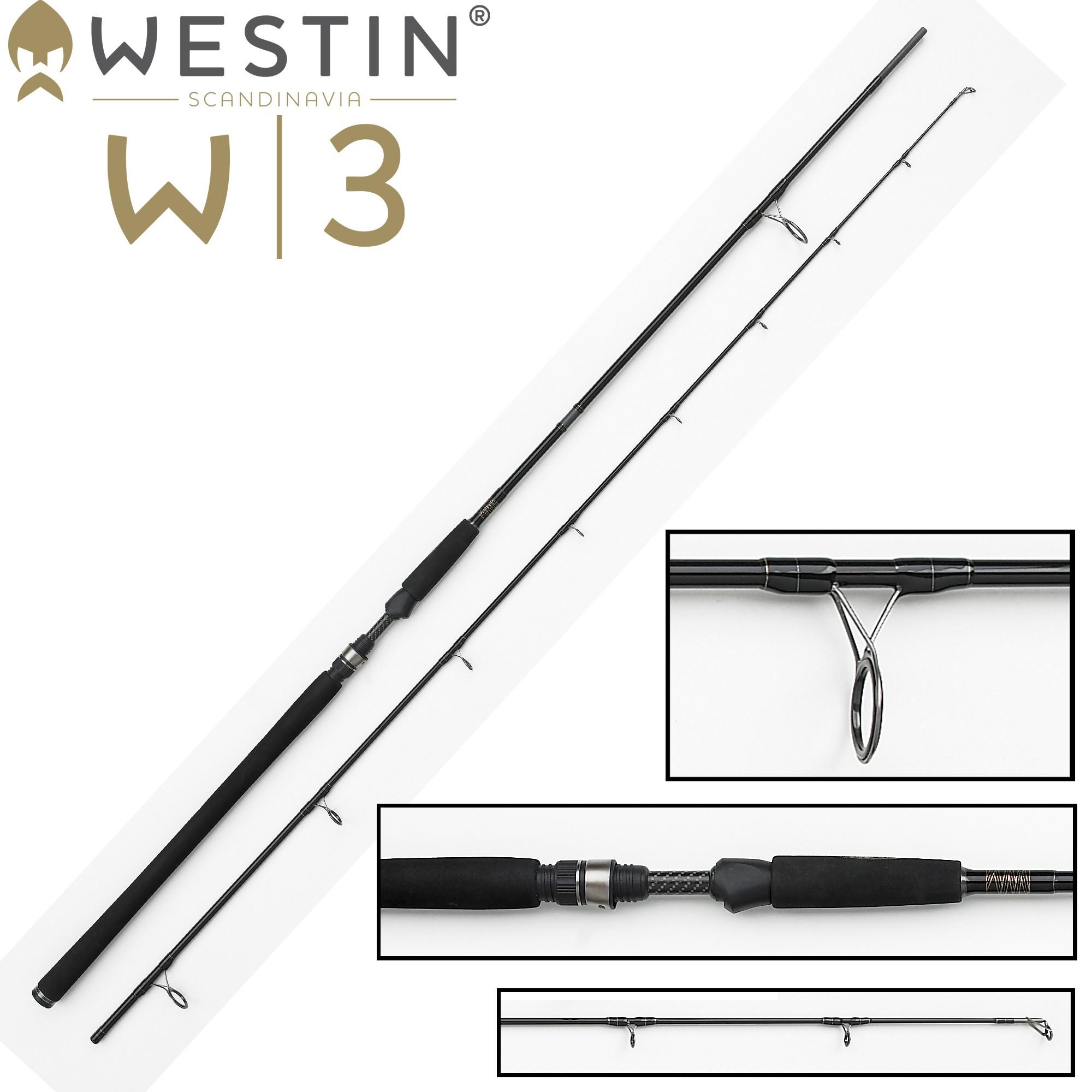 W3 Powercast 278cm XH 20-80g Spinnrute