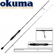 Okuma Light Range Fishing UFR 216cm 3-12g Spinnrute