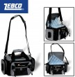 Zebco Pro Staff Deluxe Carry All 41x25x20cm Angeltasche + 4 Köderboxen