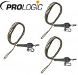 Prologic MP Ready Metal Core Leader 80cm 45lbs - 3 Karpfenmontagen