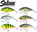 6 Salmo Fatso 10cm 48g Floating - Jerkbait Wobbler Set