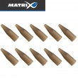 Fox Matrix Feeder Tail Rubbers - 10 Tailrubber