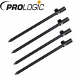 4 Prologic Black Fire Banksticks Tele 30-54cm