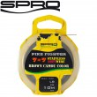 Spro Pike Fighter 7x7 Brown Soft Wire 10m - Stahlvorfach
