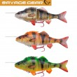 Savage Gear 4D Line Thru Perch Gummifisch Barsch