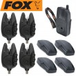 Fox Micron RX+ 4 Rod Set - 4 Bissanzeiger + 1 Receiver