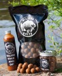 Carp Killers Banana Fisch 5kg Boilies + 100g Pop Ups 16mm + 250ml Dip & Soak
