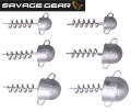 Savage Gear Cork Screw Heads Jighaken Schraubkopf