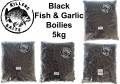 Carp Killers Black Fish & Garlic Boilies 5kg