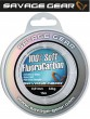 Savage Gear Soft Fluorocarbon Schnur 0,81mm 15m 33kg