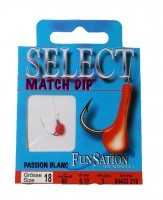 Mosella Select Match Dip Haken Feederhaken Gr.18