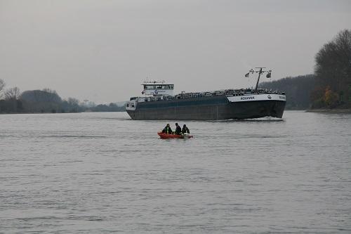 Angeln auf Zander am Rhein