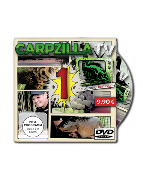 Carpzilla TV DVD Version 1