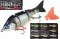 Fox Rage Hitcher Lipless Jointed Wobbler Jerkbait 100mm sinkend
