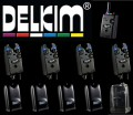 Delkim TXi Plus 4er Set (4 Delkim TXI Plus Bissanzeiger blau + 1 Delkim RX Plus Pro 6 Led Receiver)