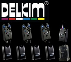 3 Delkim TXi Plus Bissanzeiger + RX Receiver Plus Pro 6 Led