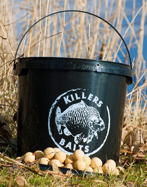 Carp Killers Boilies White Indian 3,5kg Eimer